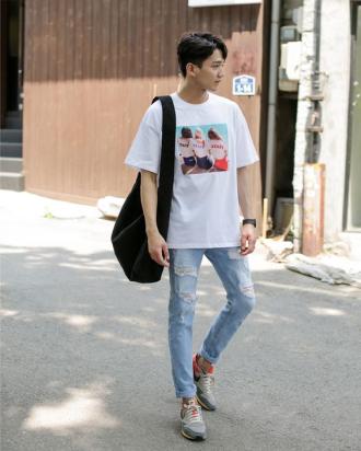 6 Cách phối đồ với quần jean nam thời trang cho mọi dáng người