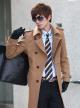 Áo khoác dạ nam thời trang gây sốt thu đông 2017